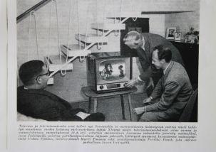 Televisiohistoriaa - Ensimmäinen suomessa valmistettu piirretty mainosfilmi.