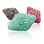 Aakkoset Emoji sour diamonds