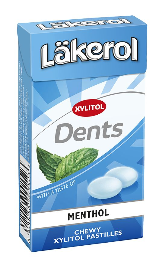 Läkerol Dents Menthol 36g