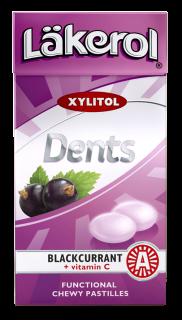 Läkerol Dents Mustaherukka 36g
