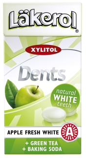 Läkerol Dents Apple Fresh White 36g
