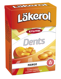 Läkerol Dents Mango 85g