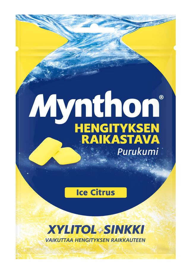 Mynthon Fresh Breath Ice Citrus purukumi 44g