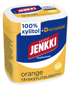 Jenkki Professional Orange+D pastilli 50g