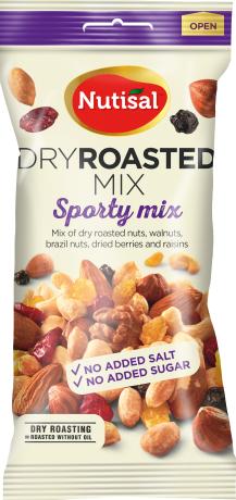 Nutisal Dry Roasted Sporty Mix 60g