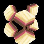 Triple fudge choco-rasp-banana