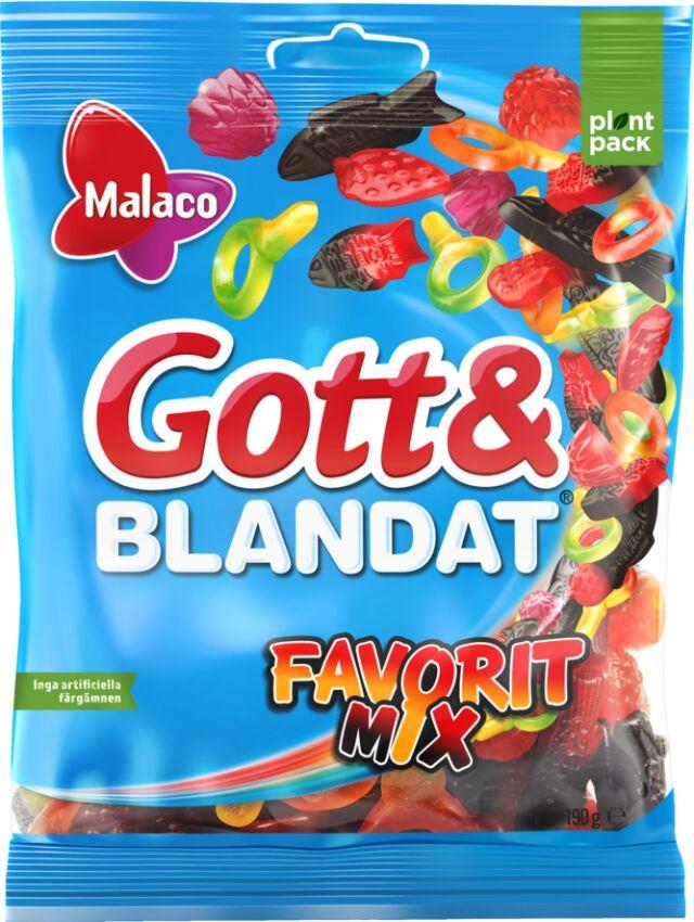 Gott & Blandat Favorit Mix