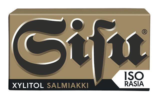 Sisu Xylitol Salmiakki 70g
