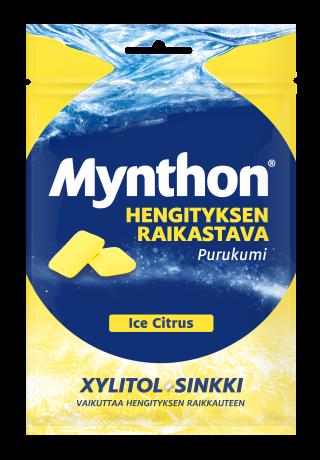 Mynthon Ice Citrus purukumi