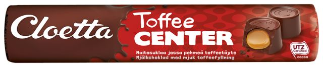 Center Toffeerulla 78g