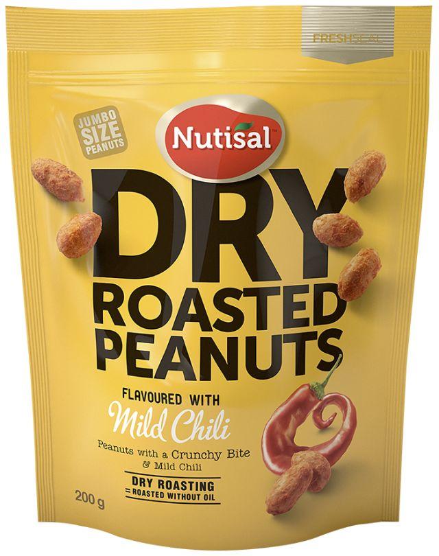 Nutisal Peanuts Mild Chili 200g