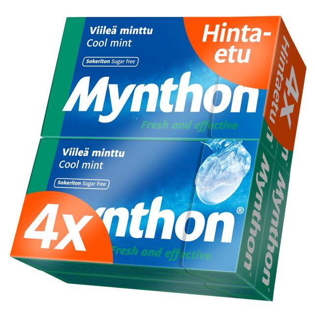 Mynthon Viileä Minttu 4-pack 140g