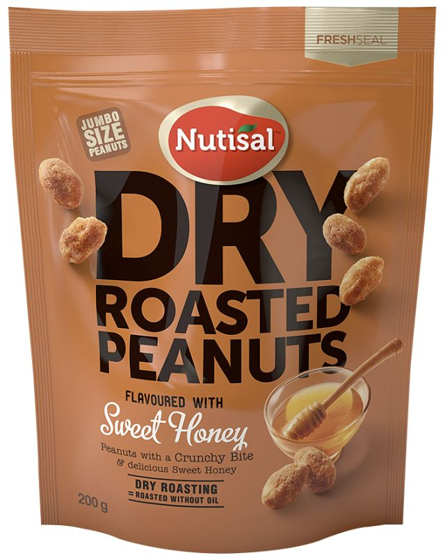 Nutisal Peanuts Sweet Honey 200g