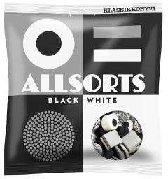 Allsorts Black&White 250g