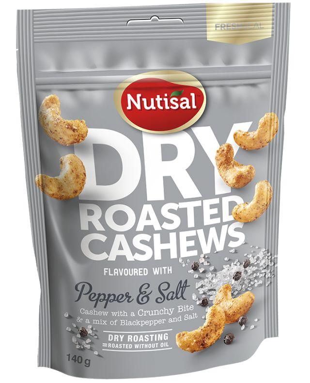 Nutisal Cashew Pepper&Salt 140g