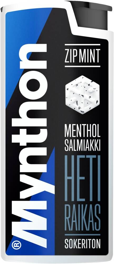 Mynthon ZipMint Salmiakki 30g