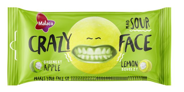 Crazy Face Sour 60g
