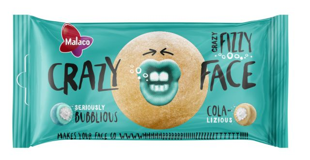 Crazy Face Fizzy 60g