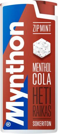 Mynthon ZipMint Menthol Cola 30g