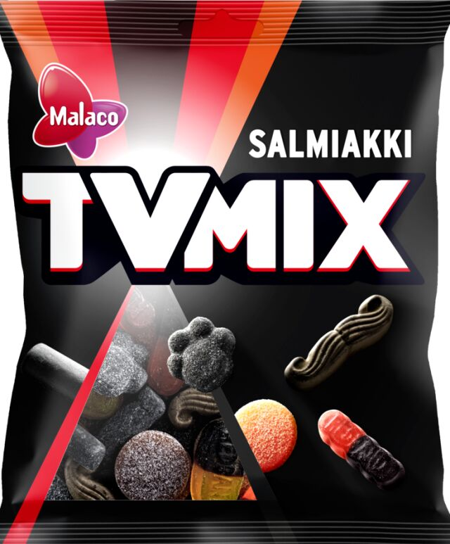 TV Mix Salmiakki 280g