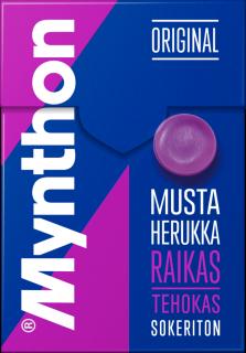 Mynthon Mustaherukka Sokton 85g
