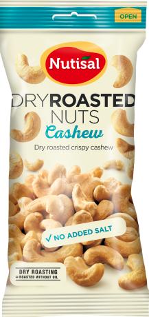 Nutisal Dry Roasted Cashew 60g