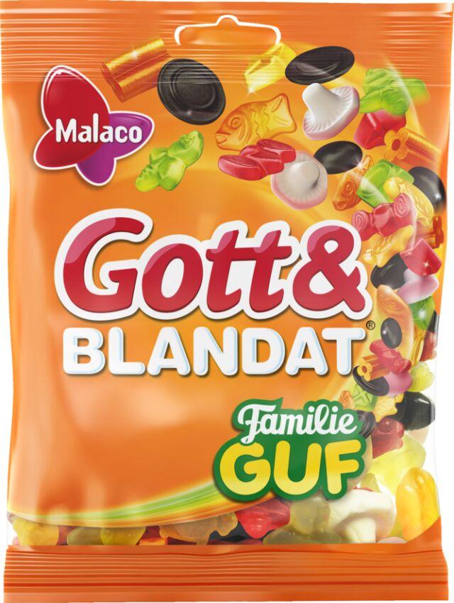 Gott & Blandat Familie Guf 210g