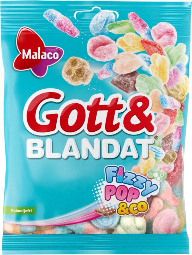 Gott & Blandat Fizzy Pop&co. 170g
