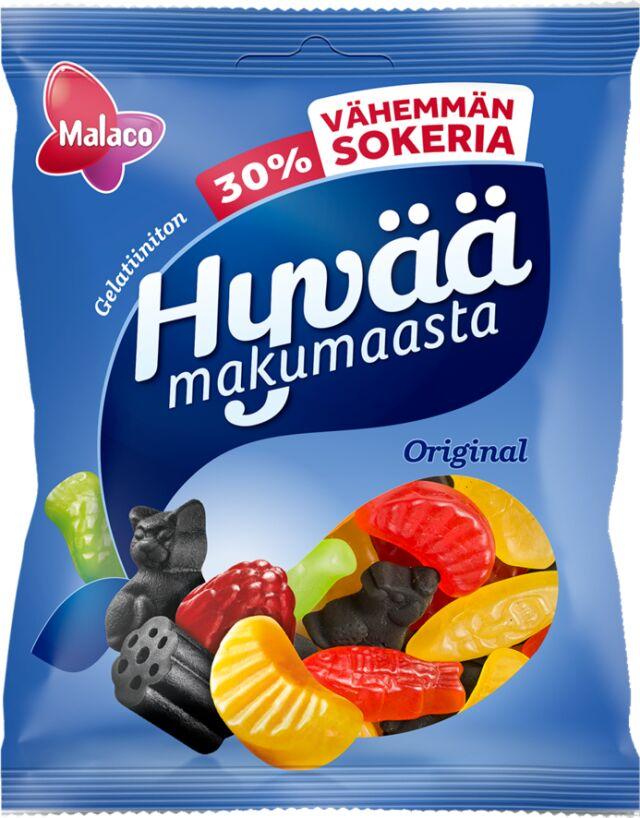 Hyvää Makumaasta Original 30% vähemmän sokeria