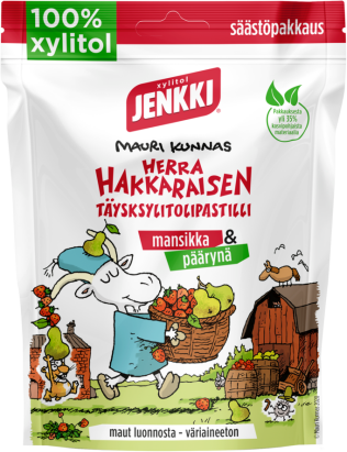Jenkki Herra Hakkaraisen täysksylitolipastilli 150g