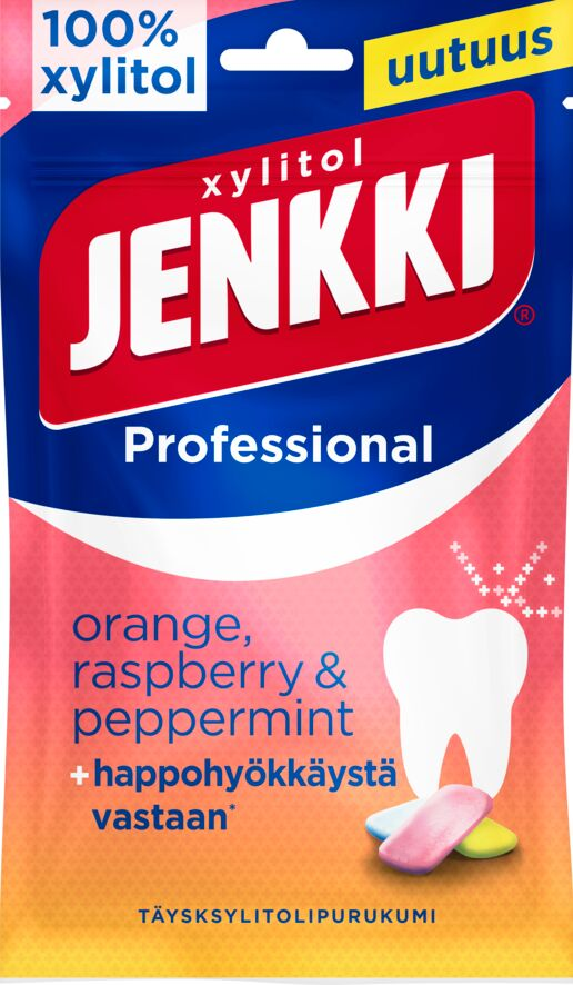 Jenkki Professional Orange, Raspberry & Peppermint 90g