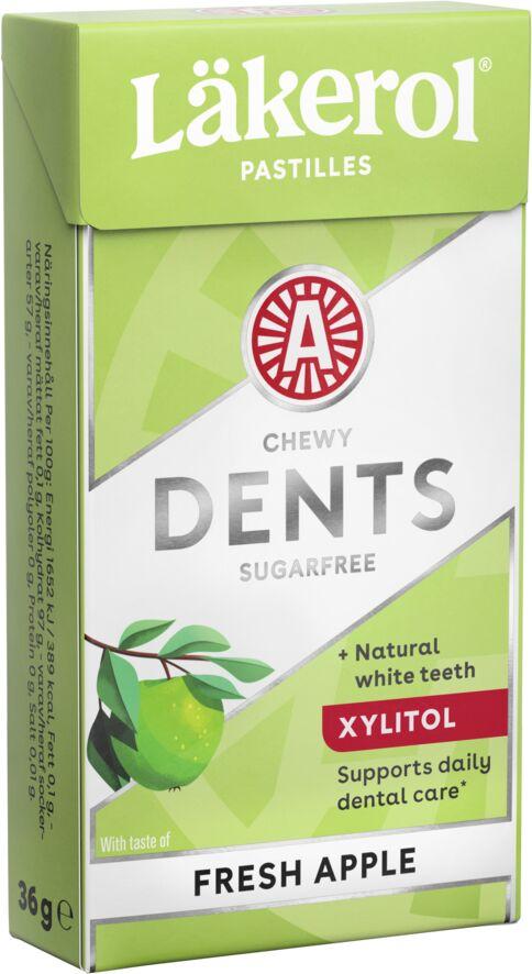 Läkerol Dents Apple Fresh White 36g