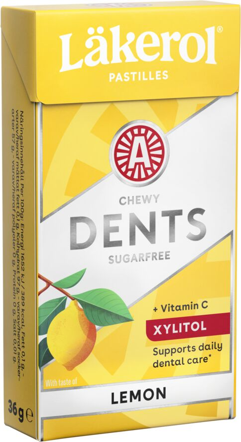 Läkerol Dents Lemon 36g