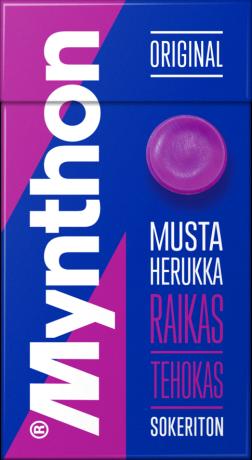 Mynthon C Mustaherukka Sokeriton 31g