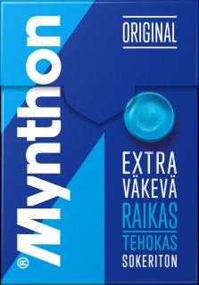 Mynthon Extra Väkevä Sokeriton 85g