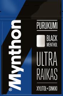 Mynthon Black Menthol + sinkki 44g