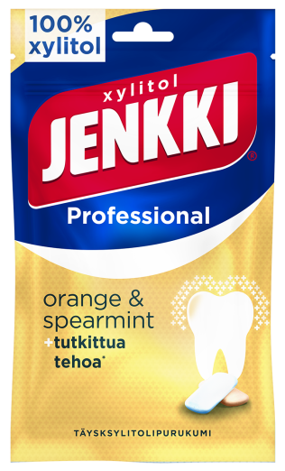 Jenkki Professional Orange-Spearmint 90g