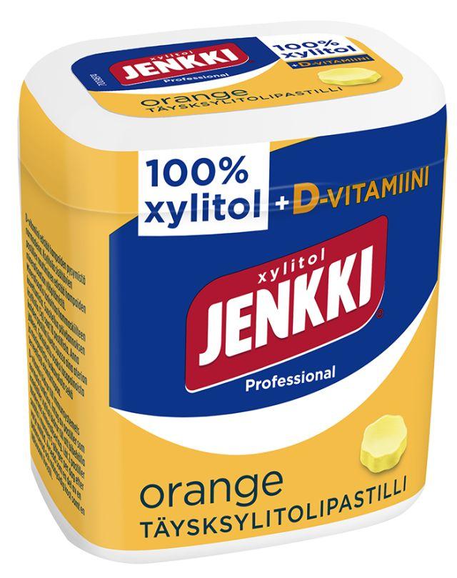 Jenkki Professional Orange+D pastilli 50g