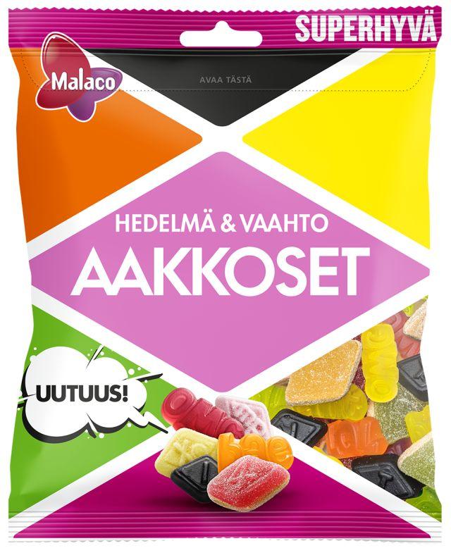 Aakkoset Hedelmä&Vaahto