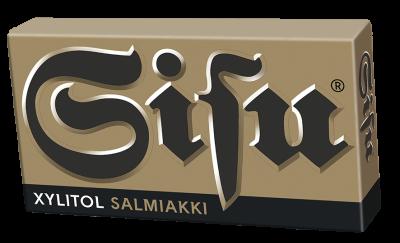 Sisu Xylitol Salmiakki 36g