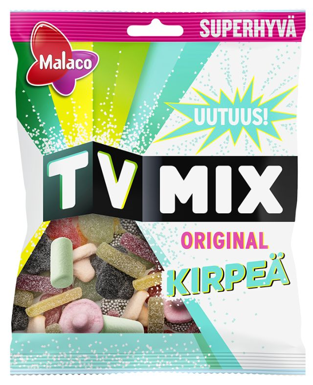TV Mix Original Kirpeä 325g