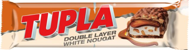 Tupla Double Layer White Nougat 48g