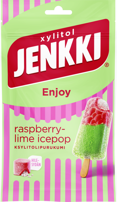 rasberry-lime icepop Kesän herkullisin Jenkki on uusi Icepop!